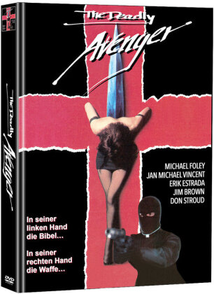 The Deadly Avenger (1992) (Cover B, Limited Edition, Mediabook, Uncut, 2 DVDs)