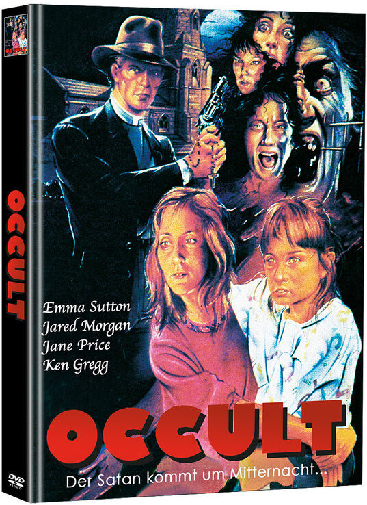 Occult (1987) (Cover B, Limited Edition, Mediabook, Uncut, 2 DVDs)