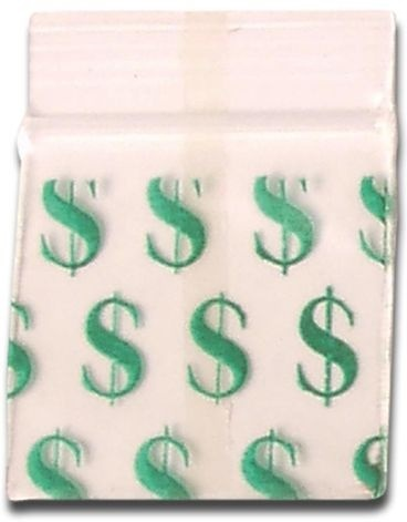 Grip Klar Dollar 35 x 35mm - 100 Drips