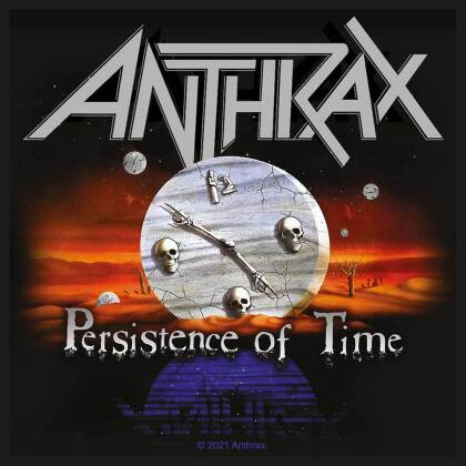 Anthrax - Persistence Of Time (Patch)