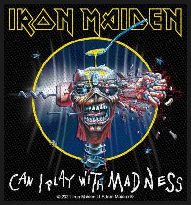 Iron Maiden - Can I Play With Madness (Patch - Packaged)
