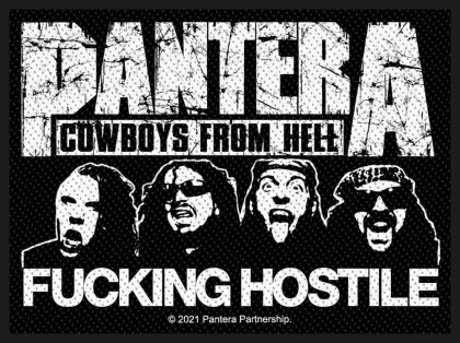 Pantera - Fucking Hostile (Patch - Packaged)