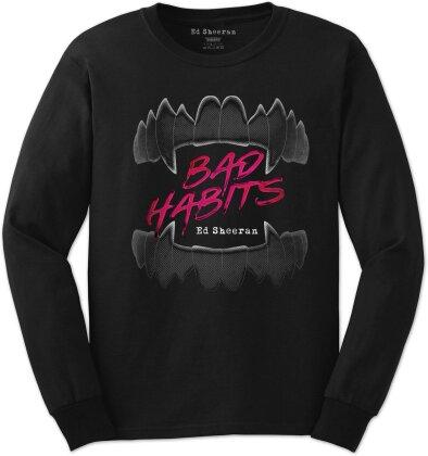 Sheeran, Ed: Bad Habits - Longsleeve