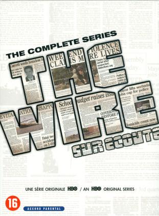 The Wire - Sur écoute - L'intégrale de la série (24 DVD)