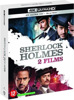 Sherlock Holmes 1 & 2 (2 4K Ultra HDs + 2 Blu-rays)