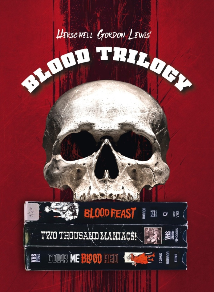 Blood Trilogy (Cover B, Limited Edition, Mediabook)