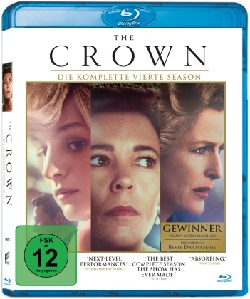 The Crown - Staffel 4 (4 Blu-rays)