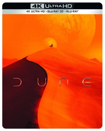 Dune (2021) (Édition Limitée, Steelbook, 4K Ultra HD + Blu-ray 3D + Blu-ray)