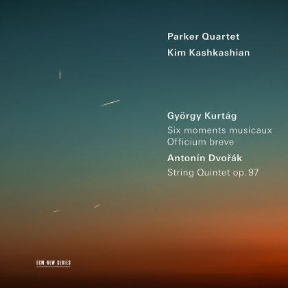 Parker Quartet, György Kurtág (*1926), Antonin Dvorák (1841-1904) & Kim Kashkashian - Six Moments Musicaux/Officium Breve/String Quartet