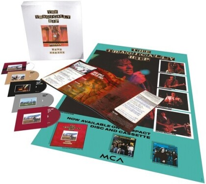 The Tragically Hip - Road Apples (2021 Reissue, 30th Anniversary Edition, Deluxe Edition, 4 CDs + Blu-ray)