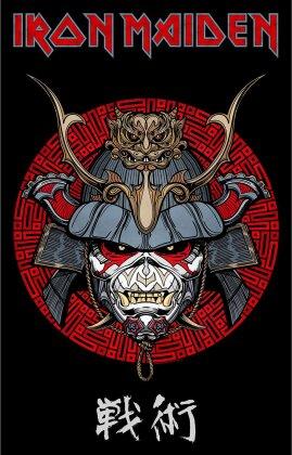 Iron Maiden - Senjutsu Samurai Eddie Textil Poster