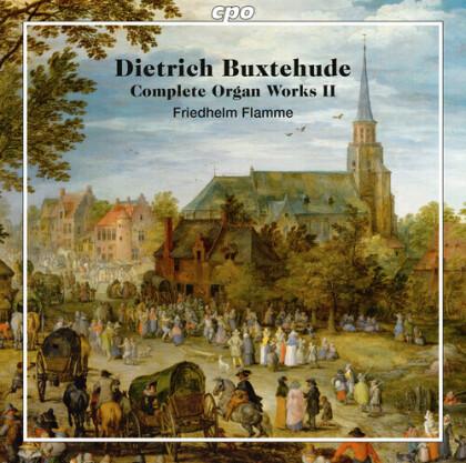 Dietrich Buxtehude (1637-1707) & Friedhelm Flamme - Complete Organ Worrks 2