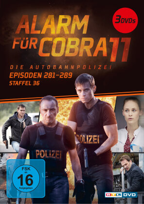Alarm für Cobra 11 - Staffel 36 (Neuauflage, 3 DVDs)