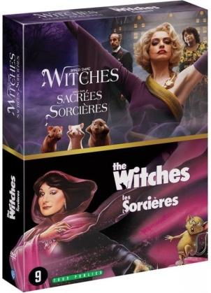 The Witches - Sacrées Sorcières (2020) / The Witches - Les Sorcières (1990) (2 DVDs)