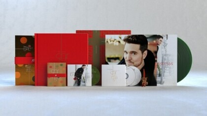 Michael Bublé - Christmas (2021 Reissue, Super Deluxe Box, 10th Anniversary Edition, LP + DVD + CD)