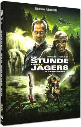 Die Stunde des Jägers - Die Schonzeit ist zuende (2003) (Cover A, Wattiert, Limited Edition, Mediabook, Blu-ray + DVD)