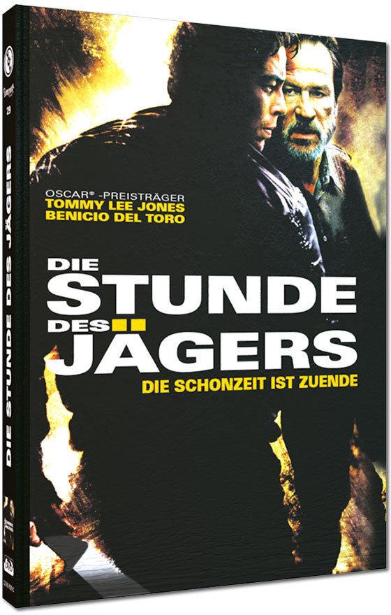 Die Stunde des Jägers - Die Schonzeit ist zuende (2003) (Cover C, Limited Edition, Mediabook, Blu-ray + DVD)