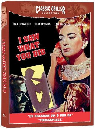 I Saw What You Did - Es geschah um 8 Uhr 30 (1965) (Classic Chiller Collection, Limited Edition)