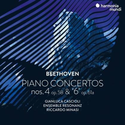 Ensemble Resonanz, Ludwig van Beethoven (1770-1827) & Riccardo Minasi - Piano Concertos Nos. 4 &