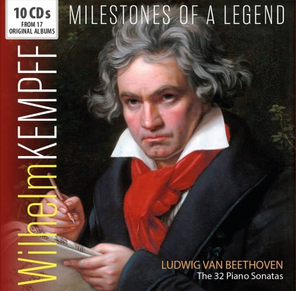 Ludwig van Beethoven (1770-1827) & Wilhelm Kempff - Kempff Plays Beethoven (Walletbox, 10 CDs)