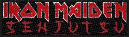 Iron Maiden - Senjutsu Logo (Superstrip Patch - Packaged)