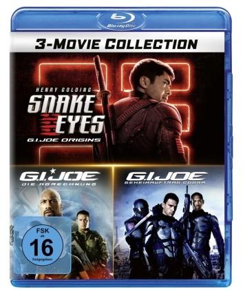G.I. Joe: 3-Movie Collection - Snake Eyes: G.I. Joe Origins / G.I. Joe: Retaliation / G.I. Joe: The Rise of Cobra (3 Blu-rays)