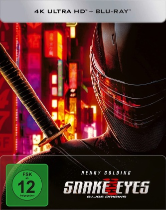 Snake Eyes - G.I. Joe Origins (2021) (Limited Edition, Steelbook, 4K Ultra HD + Blu-ray)