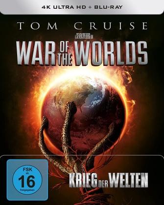 Krieg der Welten (2005) (Limited Edition, Steelbook, 4K Ultra HD + Blu-ray)