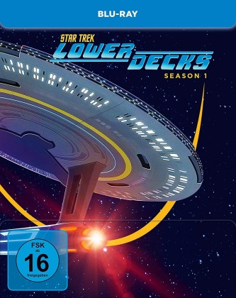 Star Trek: Lower Decks - Staffel 1 (Limited Edition, Steelbook, 2 Blu-rays)