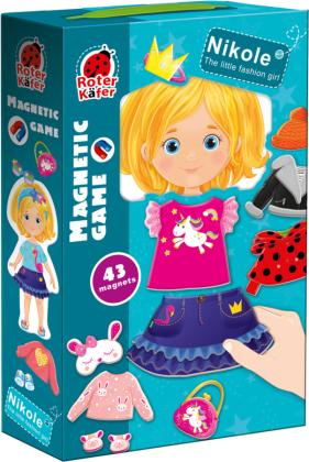 "Magnetspiel ""Nikole. Little fashion girl"" RK2010-07"