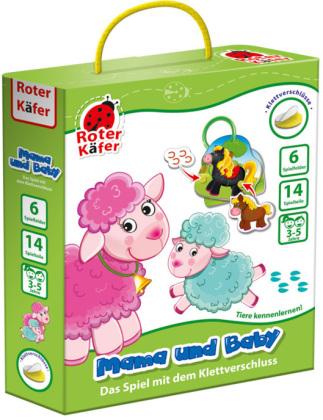 """Lernspiel mit Klettverschluss """"Mama und Baby"""" RK1030-06"""