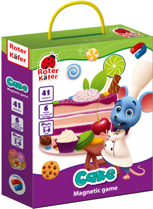 """Magnetspiel """"Cake"""" RK2020-06"""