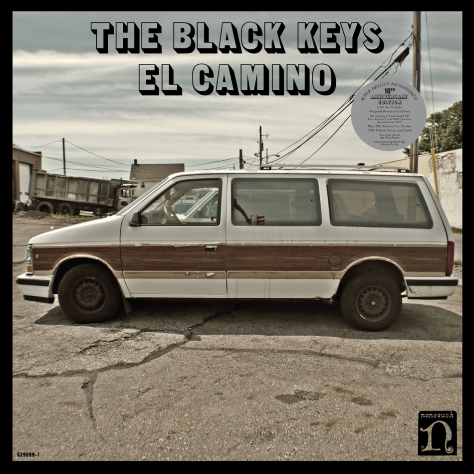 The Black Keys - El Camino (2021 Reissue, Nonesuch, 10th Anniversary Edition, Deluxe Edition, Remastered, 3 LPs)