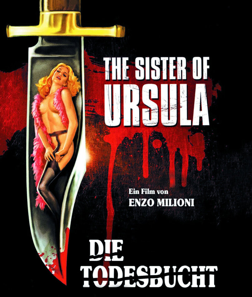 Die Todesbucht - The Sister of Ursula (1978) (Cover B, Limited Edition, Uncut)