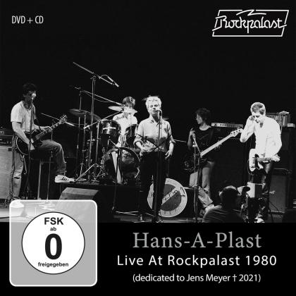 Hans-A-Plast - Live At Rockpalast 1980 (CD + DVD)