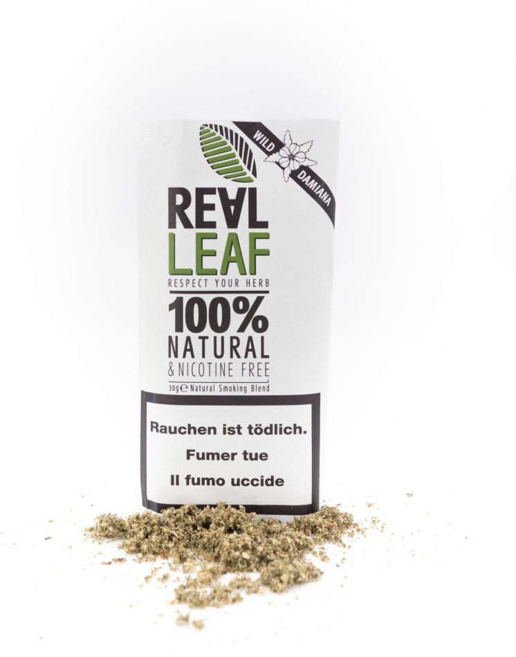 Real Leaf Wild Damiana - Kräutermischung (30g)