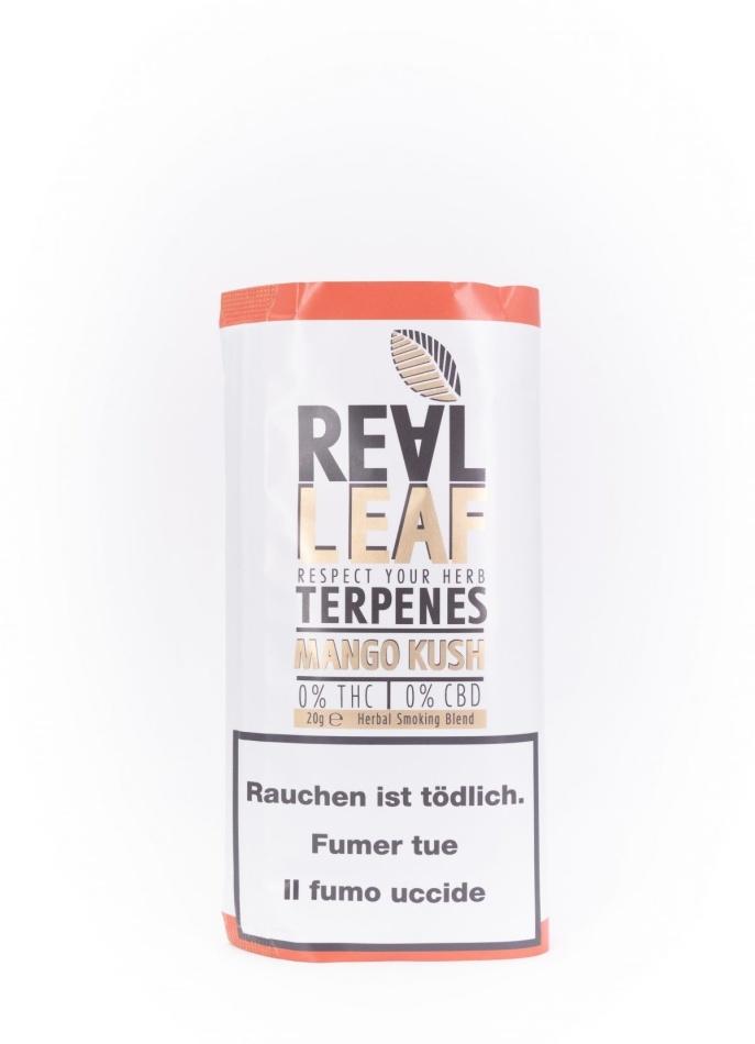 Real Leaf Mango Kush - Nikotinfreier Tabakersatz (20g)