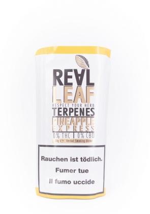 Real Leaf Pineapple-Express - Nikotinfreier Tabakersatz (20g)
