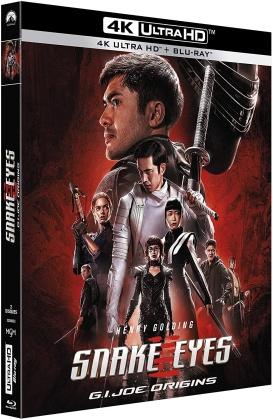 Snake Eyes - G.I. Joe Origins (2021) (4K Ultra HD + Blu-ray)