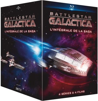 Battlestar Galactica - L'intégrale de la saga - 4 séries & 4 films (38 Blu-ray)