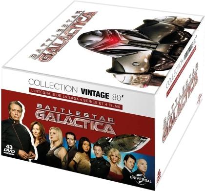 Battlestar Galactica - L'intégrale de la saga - 4 séries & 4 films (Collection Vintage 80', 43 DVD)