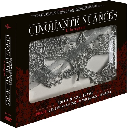 Cinquante nuances 1-3 - L'intégrale (+ Maske, Limited Collector's Edition, 5 DVDs)