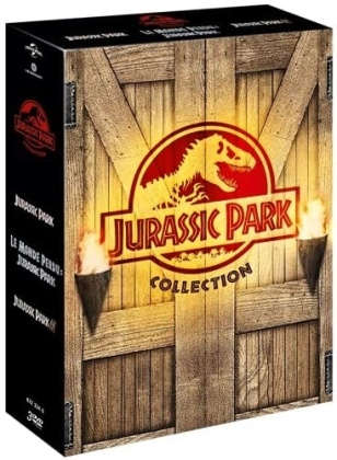 Jurassic Park Collection - Jurassic Park / Le monde perdu: Jurassic Park / Jurassic Park 3 (3 DVDs)