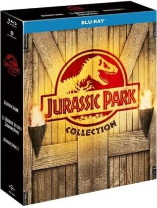Jurassic Park Collection - Jurassic Park / Le monde perdu: Jurassic Park / Jurassic Park 3 (3 Blu-rays)
