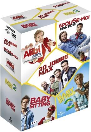 30 jours max / Épouse-moi mon pote / Alibi.com / Babysitting 2 / Babysitting - La Bande à Fifi (5 DVDs)
