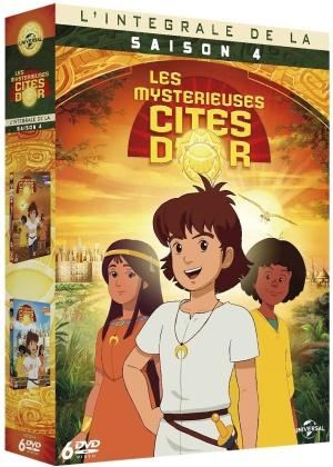 Les mystérieuses cités d'or - Saison 4 (6 DVDs)