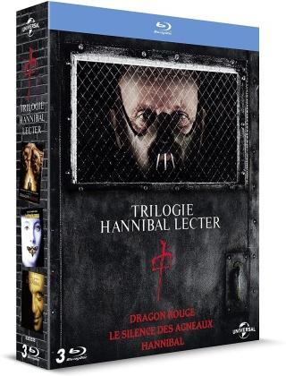 Trilogie Hannibal Lecter - Le silence des agneaux / Hannibal / Dragon Rouge (3 Blu-rays)