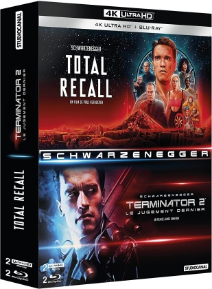 Terminator 2 / Total Recall (2 4K Ultra HDs + 2 Blu-rays)