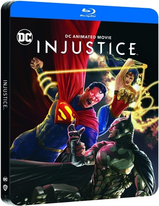Injustice - DC Animated Movie (2021) (Limited Edition, Steelbook)