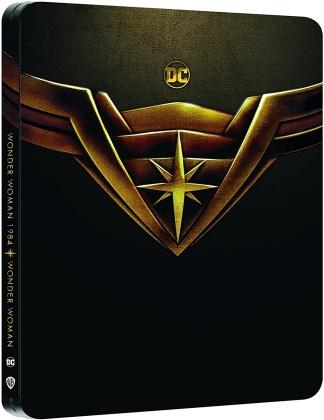 Wonder Woman (2017) / Wonder Woman 1984 (2020) (Édition Limitée, Steelbook, 2 4K Ultra HDs + 2 Blu-ray)